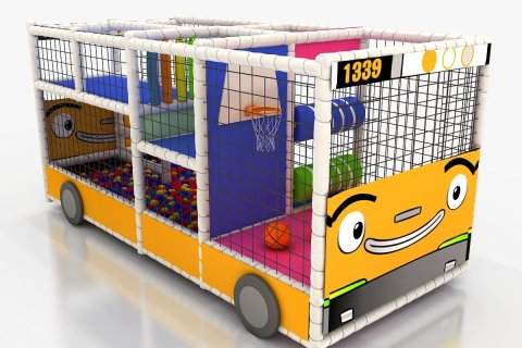 Structures multi jeux Bus