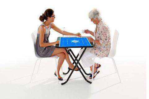 Table de jeu du moulin pliable