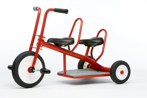 Tricycle Linea Rossa Carry 2 places Italtrike